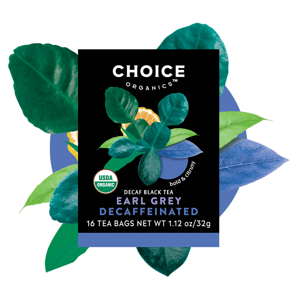 Organic Decaffeinated Earl Grey Tea